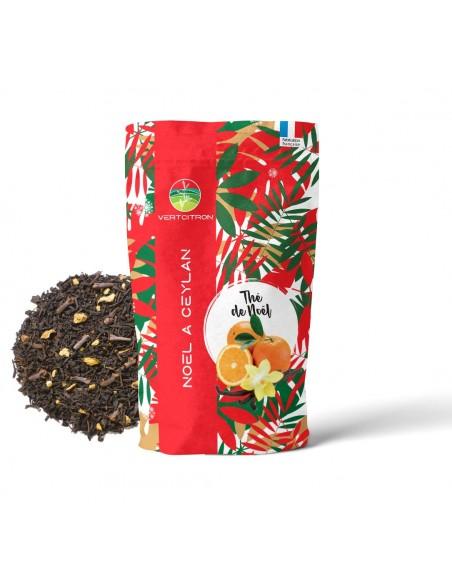 thé de noel - Noël à Ceylan