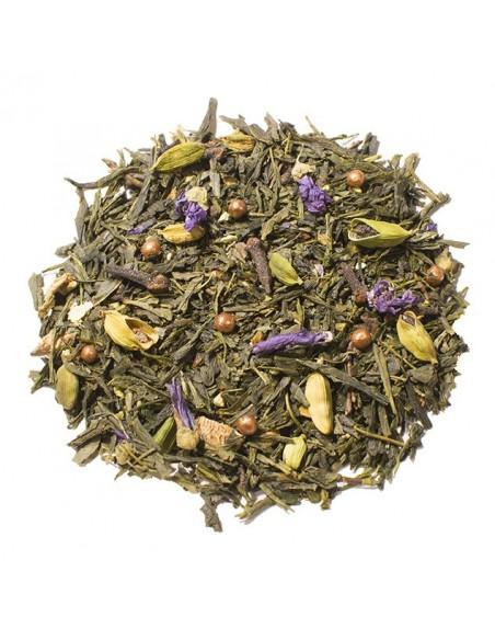 thé de noel - Noël vert